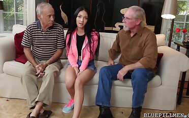 BLUE PILL Males - Old Males Fucking Teen Girls Compilation Video!