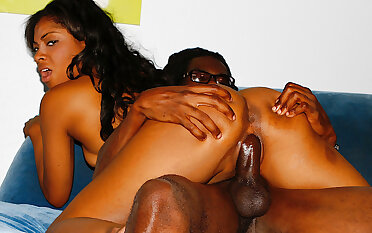 Black Teen Tiffany Monroe Gets Destroyed by a Monster BBC