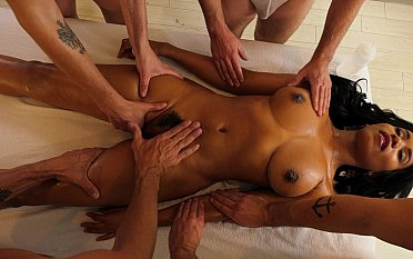 Worshiping their black goddess