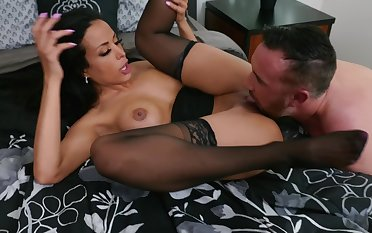 Sinful mom rides the cock then swallows the sperm