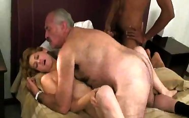 Old Increased by Young Russian Swingers