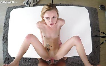 Funny young chat up Kenzie Kai hardcore sex video