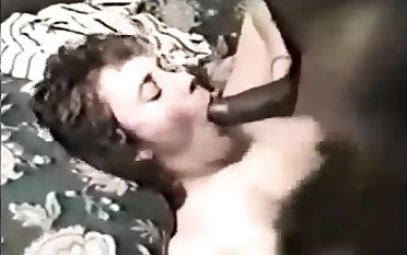 Stockings mature fetish hoe sucks insusceptible to black interracial locate