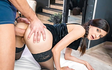 LETSDOEIT Sexy Arian Joy Gets Her Botheration Demolished By Big Cock