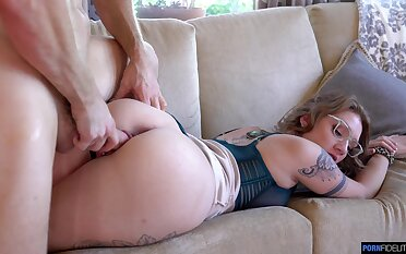 Hot tempered babe Aria Kai goes wild ona big cock and gets fucked and creampied