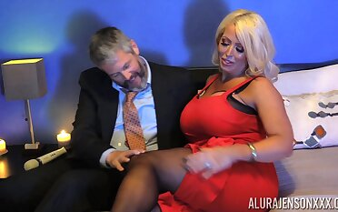 Voluptuous MILF Alura Jenson has an endless appetite for sex
