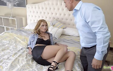 Rebellious stepdaughter having some enjoyable fuck all round her horny stepdad